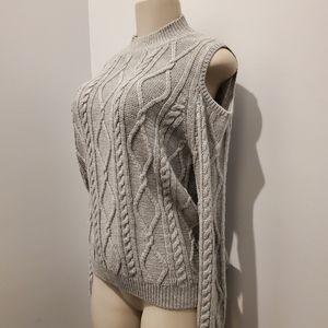 💰1,2,FREE - Cold Shoulder Sweater